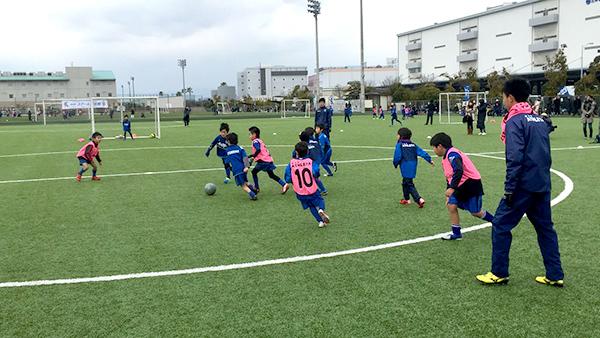 2月6日 西日本新聞社Presentsアビスパ福岡サッカースクール交流戦