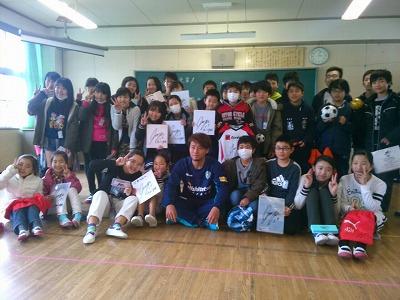 【広報ブログ】母校訪問!!