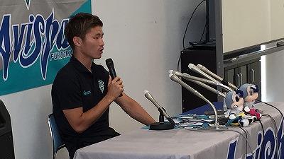亀川選手がオリンピックU-23日本代表メンバーに選出